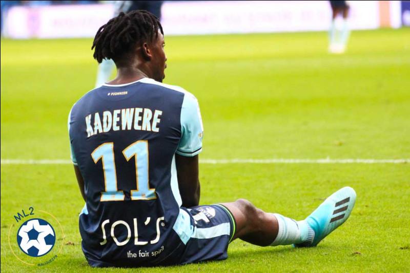 Combien de buts a inscrit Tino Kadewere ?