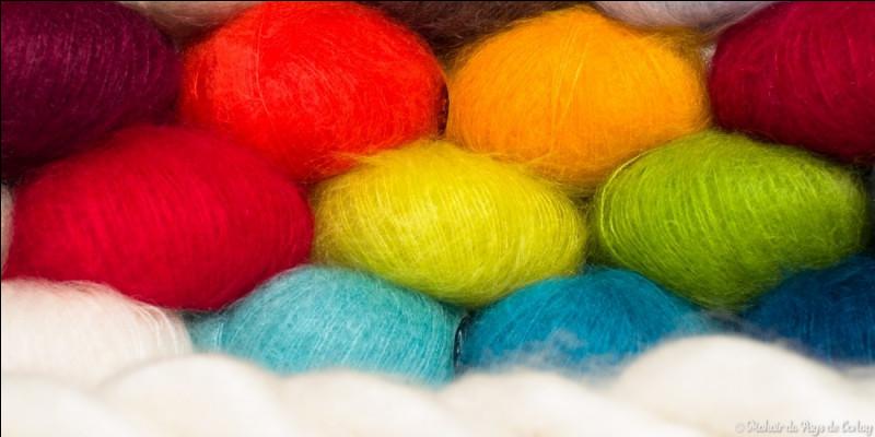 De quel animal provient la laine mohair ?