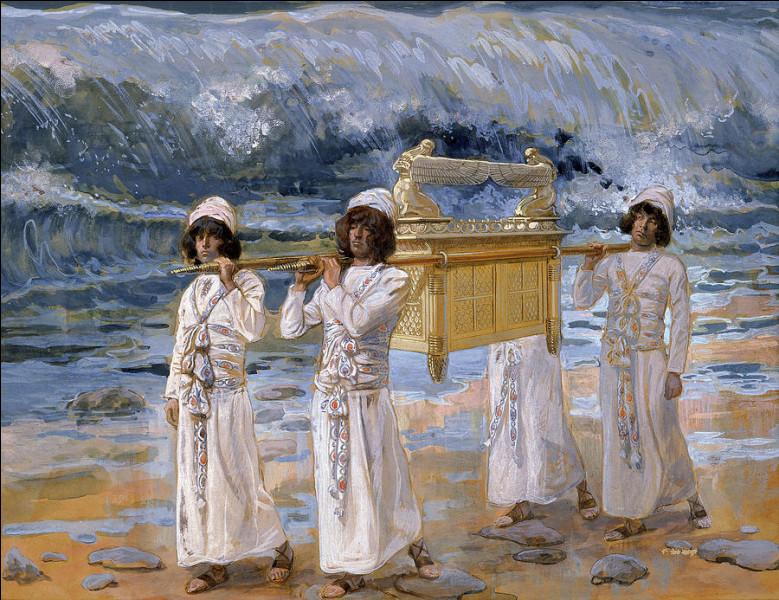 """Qui a peint """"L'Arche passe sur le Jourdan"""" ?"""