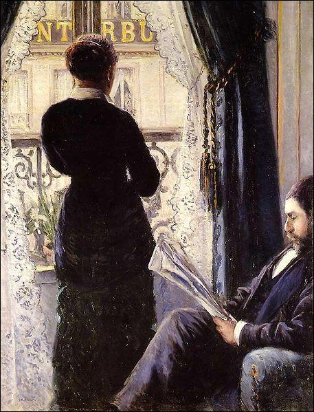 """Qui est le peintre de cette toile nommée """"Intérieur"""" ?"""