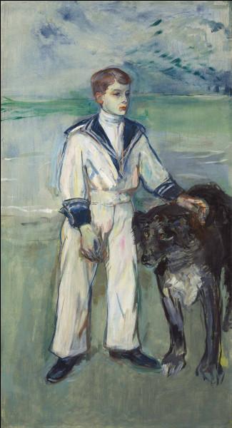 """Qui a peint """"L'Enfant au chien"""" ?"""