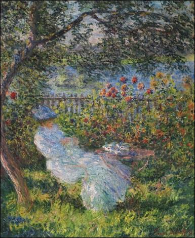 """Qui a peint """"Alice au jardin"""" ?"""