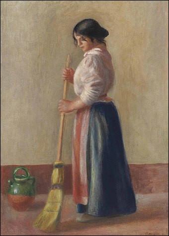 "Qui a peint ""La Balayeuse"" ?"