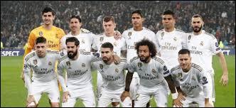 Combien de finales de Ligue des champions a disputé le Real Madrid ?