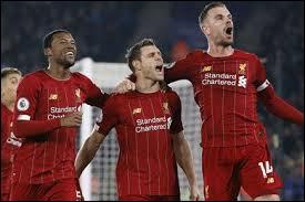 De quand date la dernière défaite de Liverpool en Premier League ?