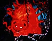 Dans quel film d'animation croise-t-on ce redoutable taureau de feu ?