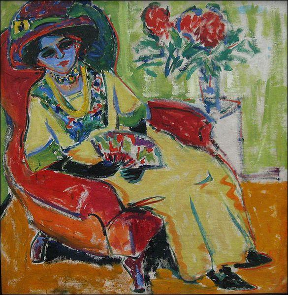 """Qui a peint cette """"Dame assise"""" ?"""