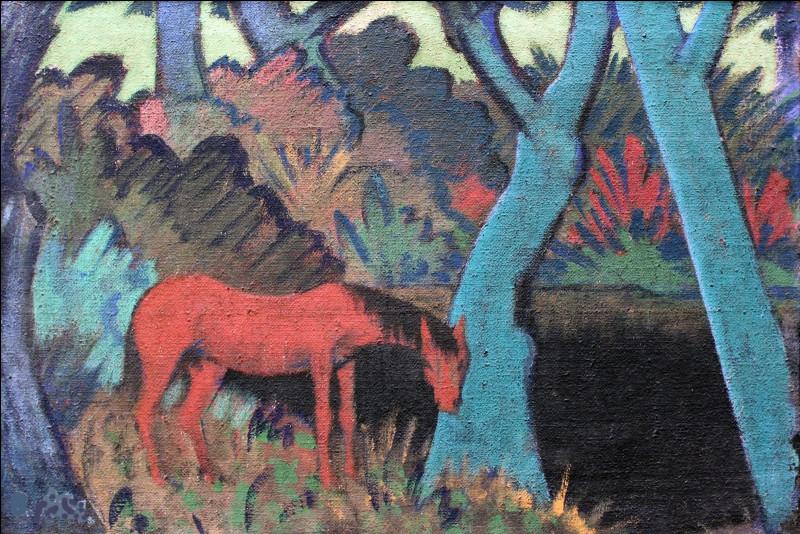 Qui a peint le cheval gitan et l'eau noire ?