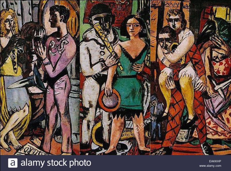 """Qui est le peintre de """"Carnaval"""" ?"""