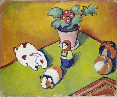 """Qui a peint """"Les Jouets du petit Walter"""" ?"""