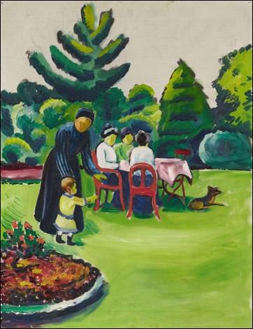"""Qui a peint """"Repas dans le jardin"""" ?"""