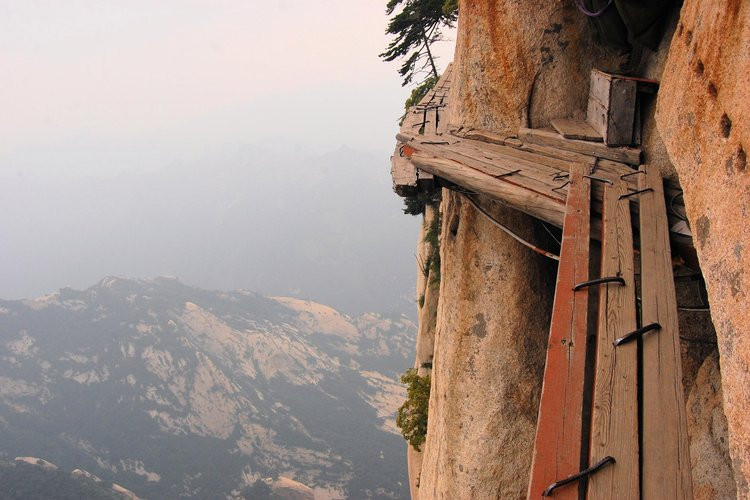 « Les escaliers de la Butte...»