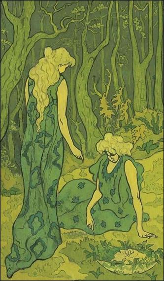 "Qui a peint ""Symphonie en vert"" ?"