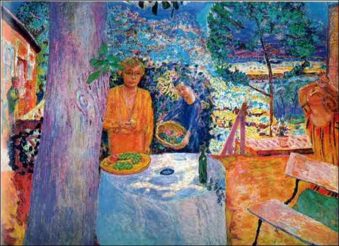 """Quel peintre ayant beaucoup représenté """"Le Cannet"""" où il a vécu, a peint ici """"Vernon"""" ?"""
