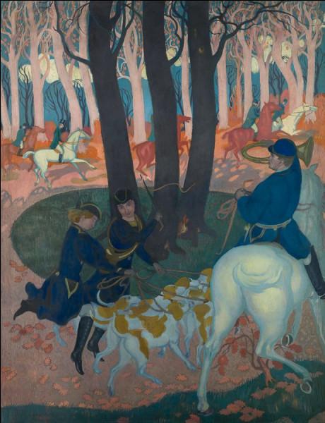 """Quel peintre du groupe des nabis, dont ''la montée au calvaire'' est exposée au musée d'Orsay ainsi que son """"Hommage à Cézanne"""", a réalisé le tableau """"Lâcher de chiens"""" ?"""