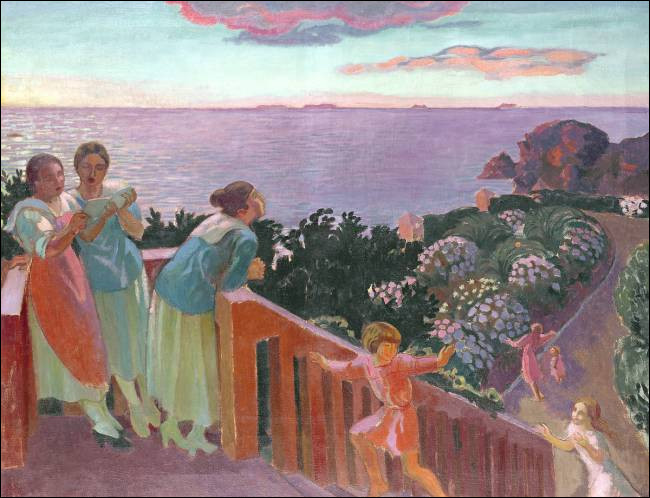 "Qui a peint ""Le Balcon du silence"" ?"