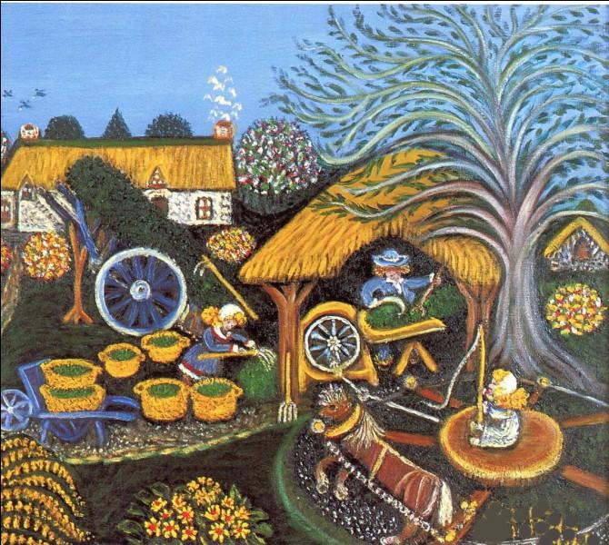 """Quelle peintre bretonne représente ici sa """"Bretagne"""" ?"""