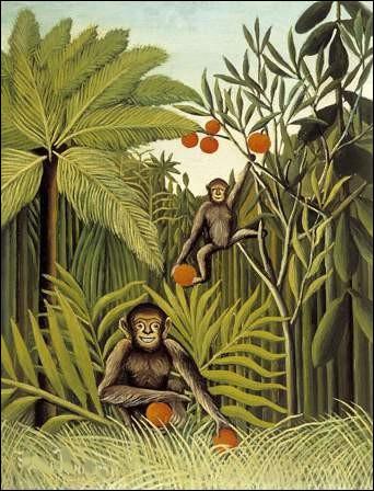 """Qui a représenté """"Les Singes dans la jungle"""" ?"""
