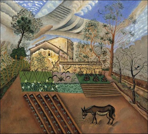 """Qui a peint """"Le potager à l'âne"""" ?"""