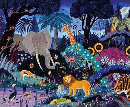 """Qui a peint """"La Jungle"""" ?"""
