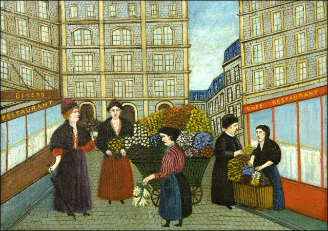 """Qui a peint """"Les Fleuristes"""" ?"""