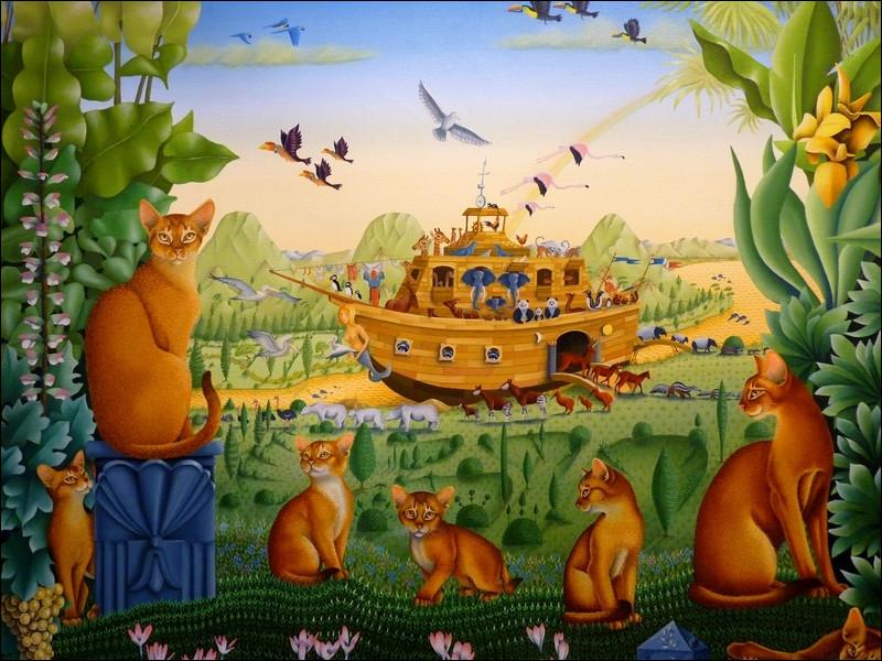 """Qui est le peintre de """"L'Arche de Noé"""" ?"""