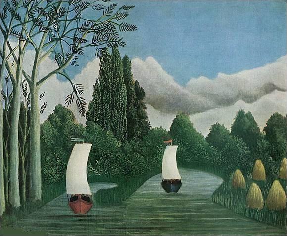 """Qui a peint """"Les Bords de l'Oise"""" ?"""