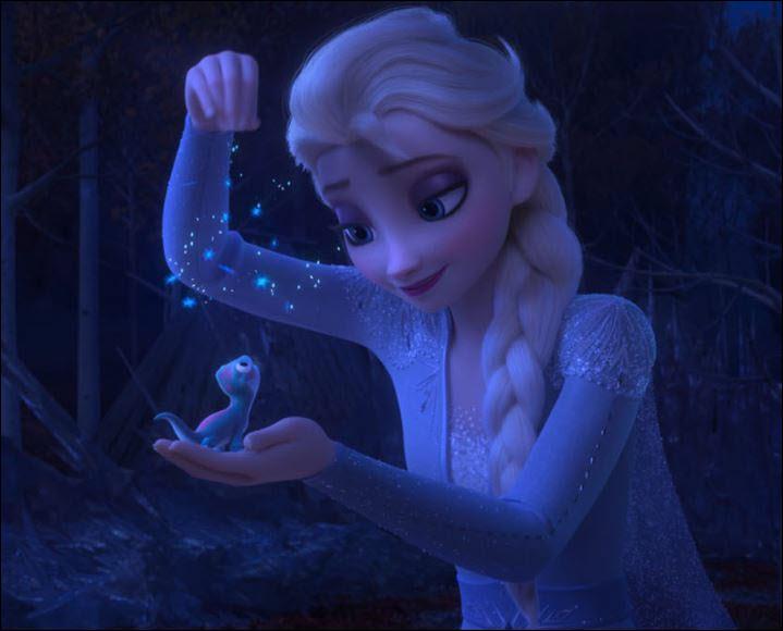 Comment Elsa parvient-elle à arrêter l'esprit du feu ?