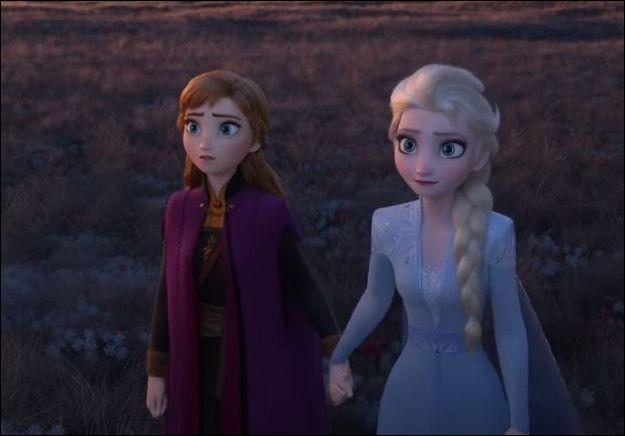 Que découvrent Anna et Elsa ?