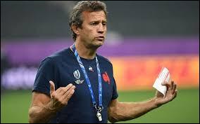 Tournoi des Six Nations 2020, du 1er février au 14 mars : comment se nomme le nouvel entraîneur de l'équipe de France de rugby qui entraînera ses premiers matchs ?