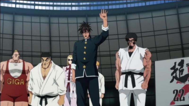 Comment s'appelle le tournoi d'arts martiaux auquel s'inscrit Saitama ?