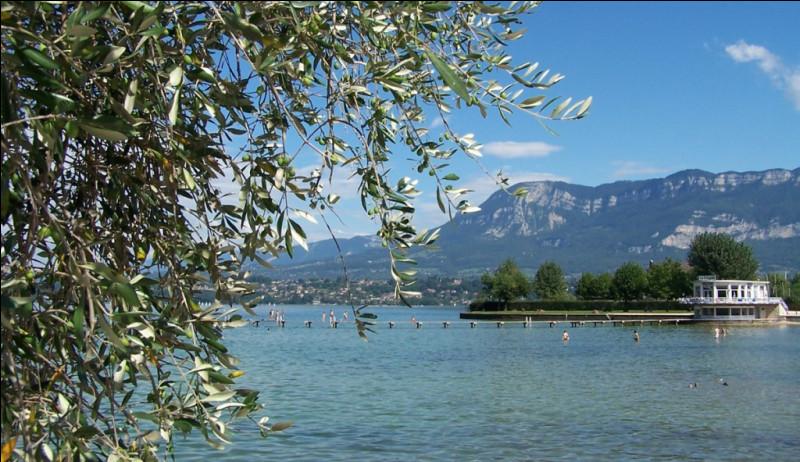 """Quel est ce grand lac français du département de la Savoie qui inspira le poème """"Le Lac"""" à Lamartine ?"""