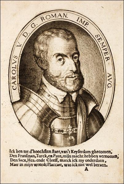 Ce souverain, roi d'Espagne et empereur du Saint-Empire romain germanique durant la première moitié du 16e siècle, est