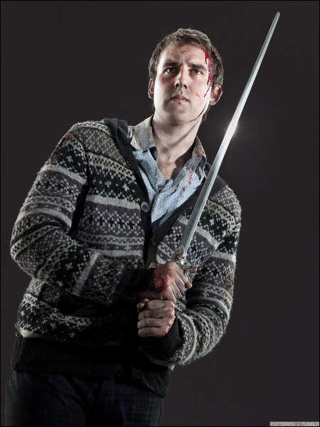 A qui appartenait la première baguette de Neville ?