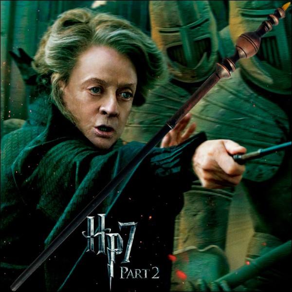 Comment s'appelait le premier amour de Minerva McGonagall ?