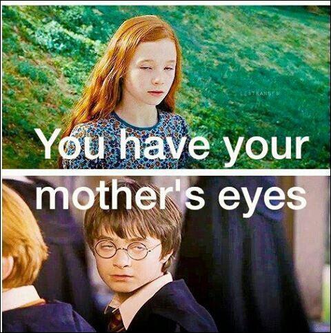Harry a les yeux de sa mère, de quelle couleur sont-ils ?