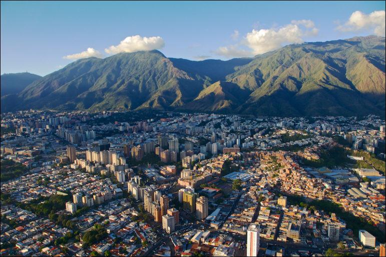 "Municipalité de Libertador - climat tropical - l'université Santa Maria - le ""berceau de Bolivar"""