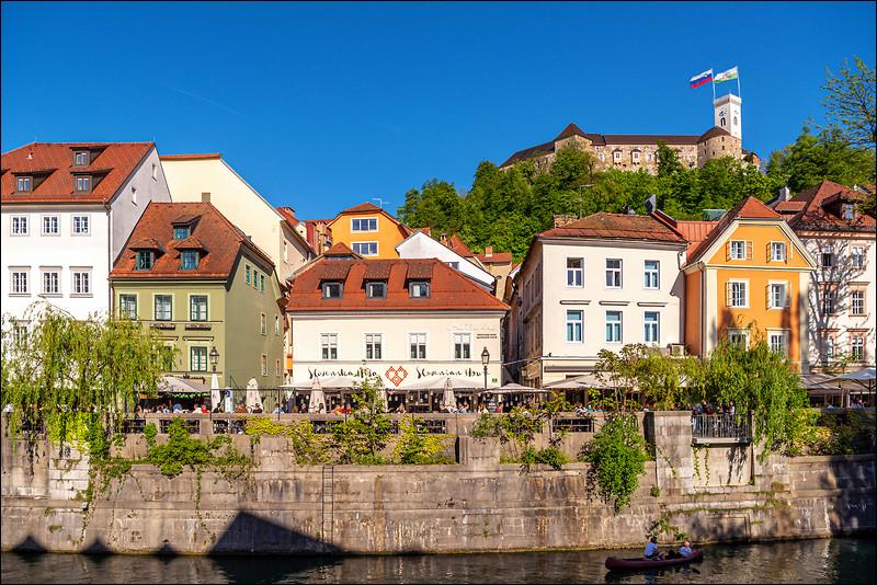 Influences de diverse cultures, notamment germanique, latine et slave - ville bordée par les Alpes - la Cathédrale Saint-Nicolas - le maire Zoran Janković