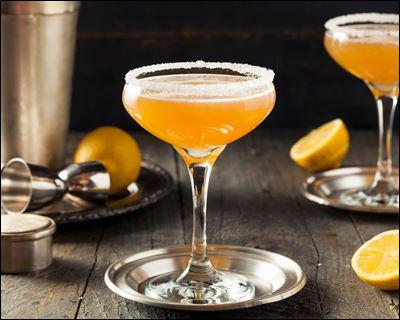 """Dans quelle ville, le cocktail """"Sidecar"""" à base de cognac, liqueur d'orange et jus de citron, est-il né ?"""