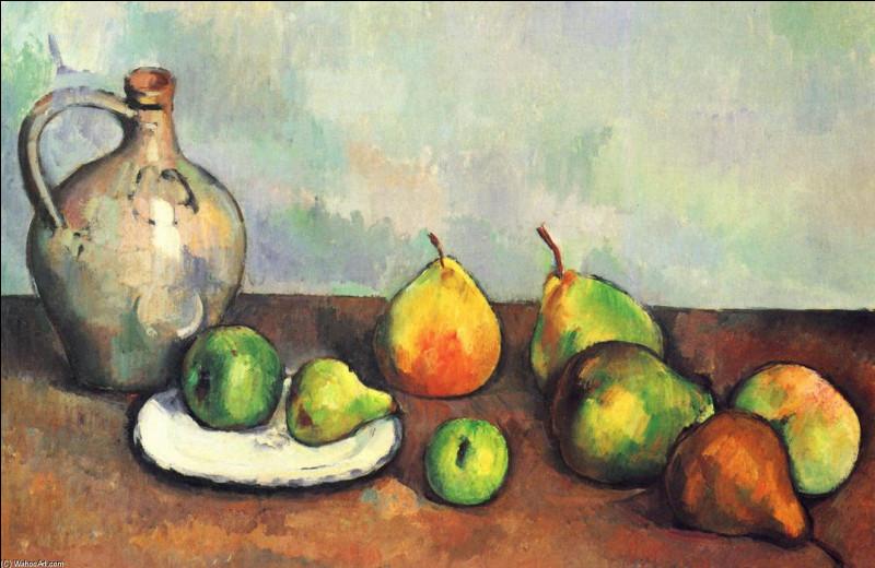 """À qui appartient la toile """"Nature morte à la cruche et aux fruits"""" ?"""