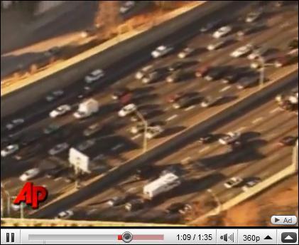 Le 18 février, la police est intervenue sur une autoroute d'Atlanta pour récupérer un animal. Lequel ?
