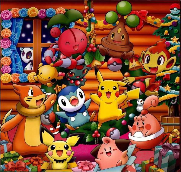 Combien y a-t-il de Pokémon sur cette jolie photo ?