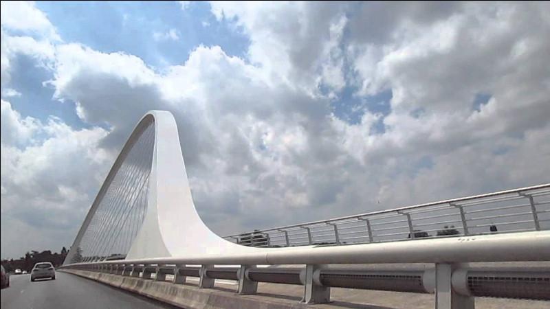 À quelle ville allemande le pont de l'Europe relie-t-il Strasbourg ?