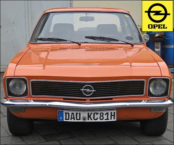 Quelle est cette automobile lancée en 1970 ?