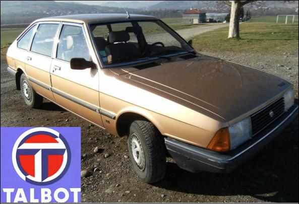 Quelle est cette automobile lancée en 1979 ?