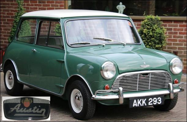 Quelle est cette automobile lancée en 1959 ?