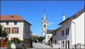 Commune Iséroise, Siccieu-Saint-Julien-et-Carisieu se situe en région ...