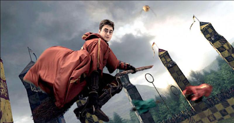 Comment s'appelle la balle que doit attraper l'attrapeur dans un match de quidditch ?