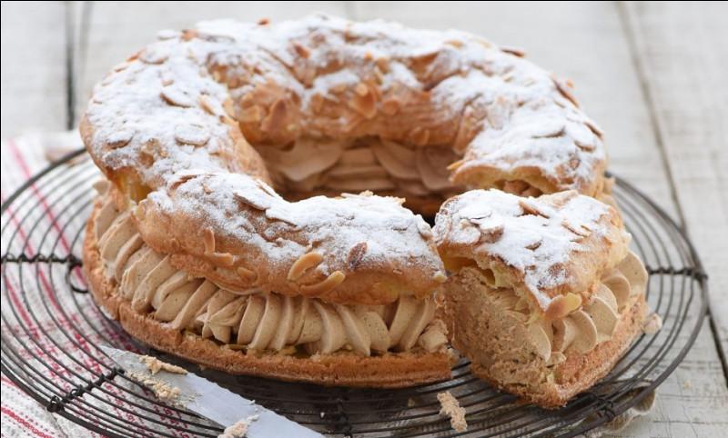 Quel type d'événement a inspiré le Paris-Brest, gâteau en forme de couronne, créé à Maisons-Laffitte en 1910 ?