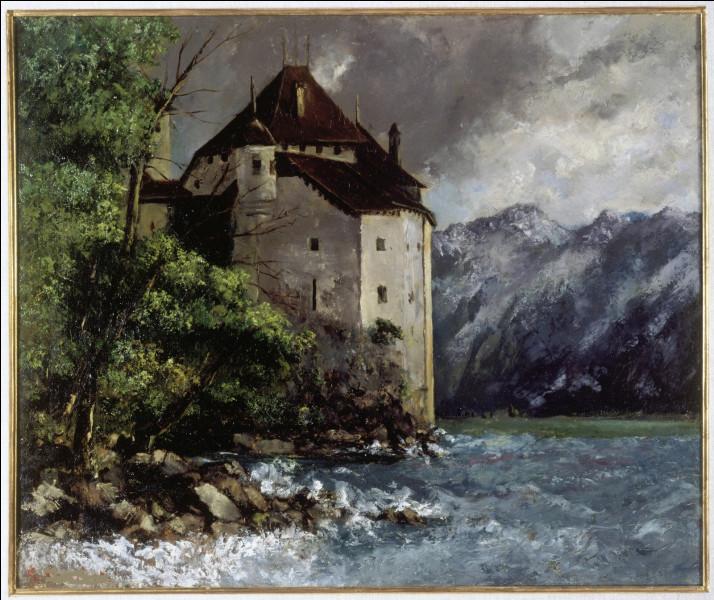 """Qui a représenté """"Le Château de Chillon"""" ?"""